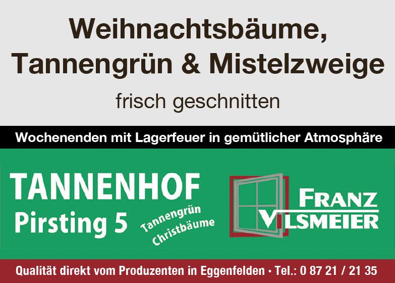 Anzeige von Schreinerei Vilsmeier